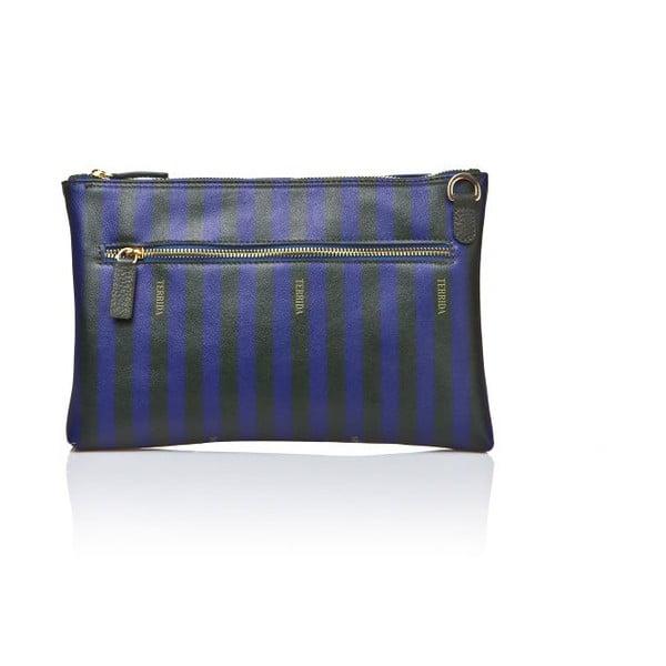 Listová kabelka Apolline Blue/Dark Green