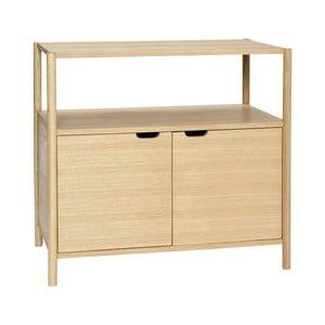 Komoda s policou Hübsch Oak Dresser With Shelf