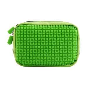 Pixelová príručná taštička, green/green