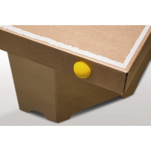 Kartónový pingpongový stôl Tennino, biely