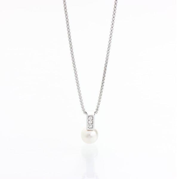 Náhrdelník s krištáľmi Swarovski® Yasmine Pearl