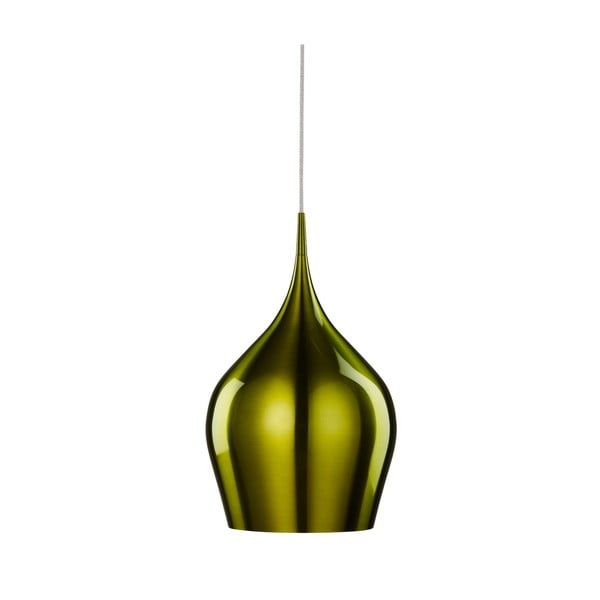 Stropné svetlo Searchlight Vibrant, 26 cm, zelená
