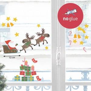 Elektrostatická samolepka Le Père Noël