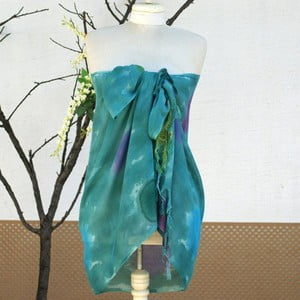 Pareo šatka Cloth Green, 70x190 cm