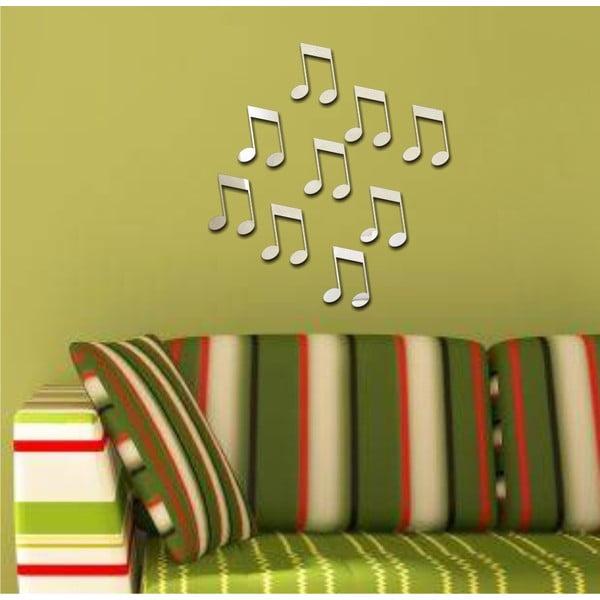 Dekoratívne zrkadlo Hudba hraj