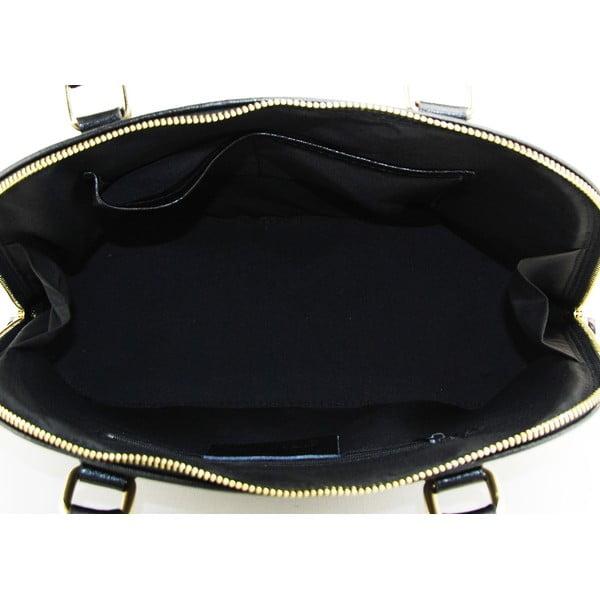 Kožená kabelka Cheesa Nero