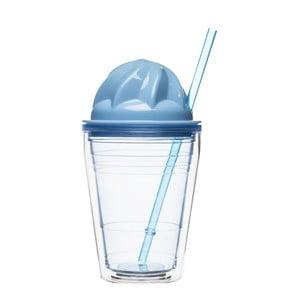 Modrý hrnček na mliečne  kokteily Sagaform
