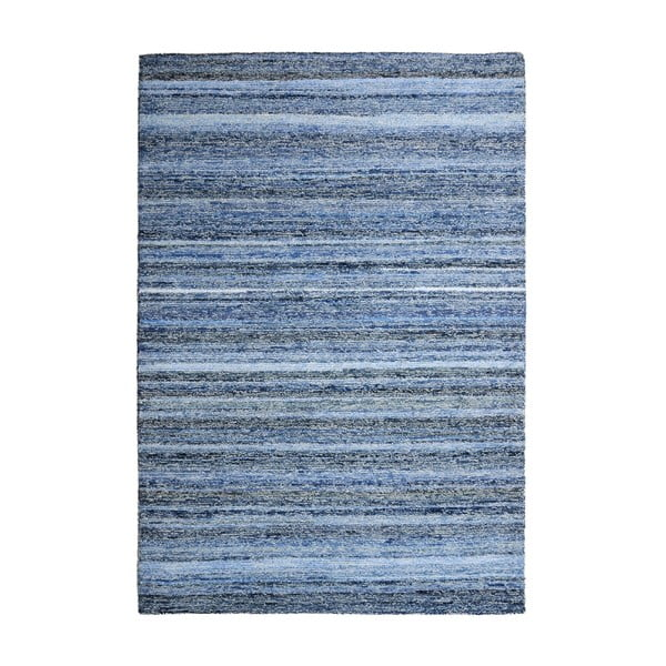 Vlnený koberec Deniza Blue, 120x180 cm