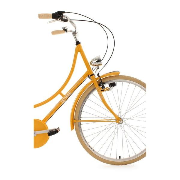 """Bicykel Damen Tussaud Gelb 28"""", výška rámu 54 cm, 3 prevody"""