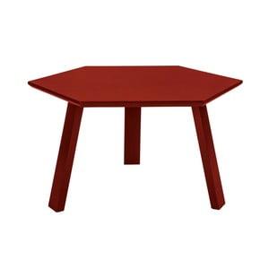 Konferenčný stolík Hexagon Red, 70x37x70 cm