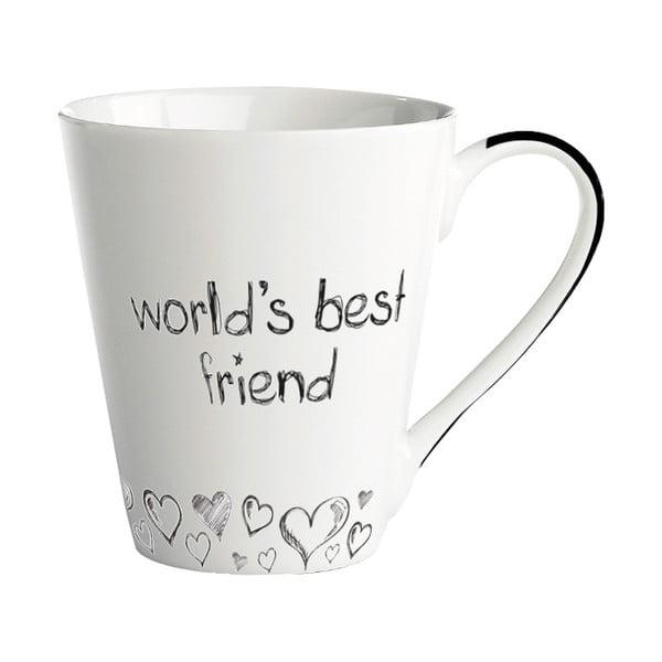 Porcelánový hrnček Galzone World's best friend