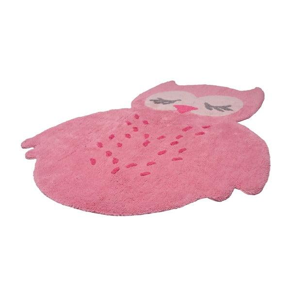 Detský ružový koberec Nattiot Sweet Pepa, 95 x 120 cm