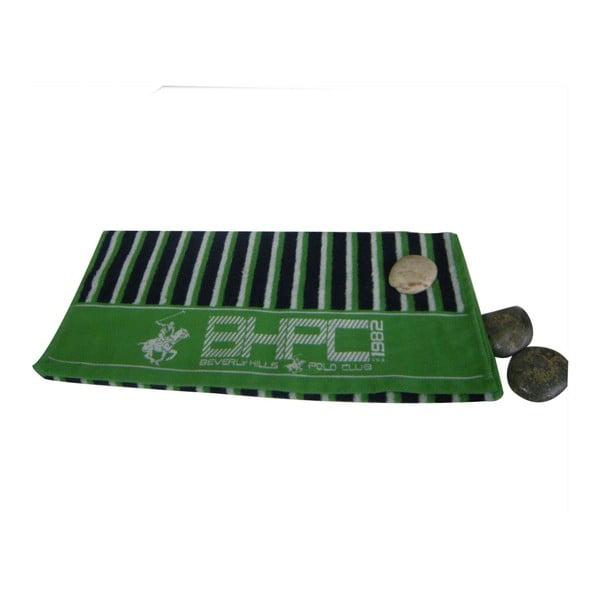 Zelená osuška BHPC, 80x150 cm