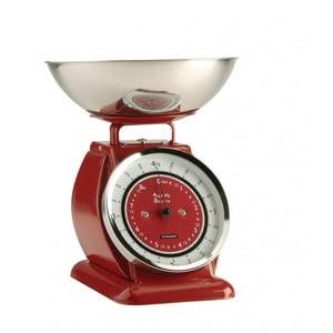 Červená kuchynská váha Typhoon Bella Scales