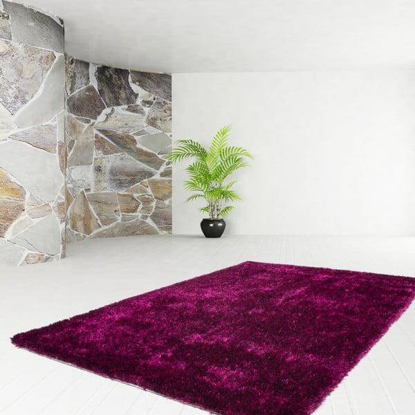 Tmavovínový koberec Kayoom Celestial 328 Purple/Black, 160 x 230 cm