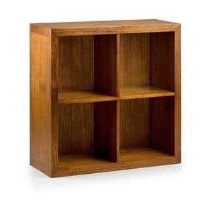 Knižnica z dreva bieleho cédra Moycor Star Combi