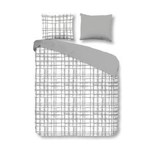 Obliečky Check Grey, 140x200 cm