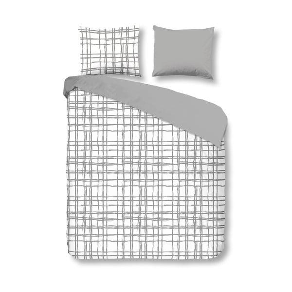 Bavlnené obliečky Müller Textiel Check, 200x200cm