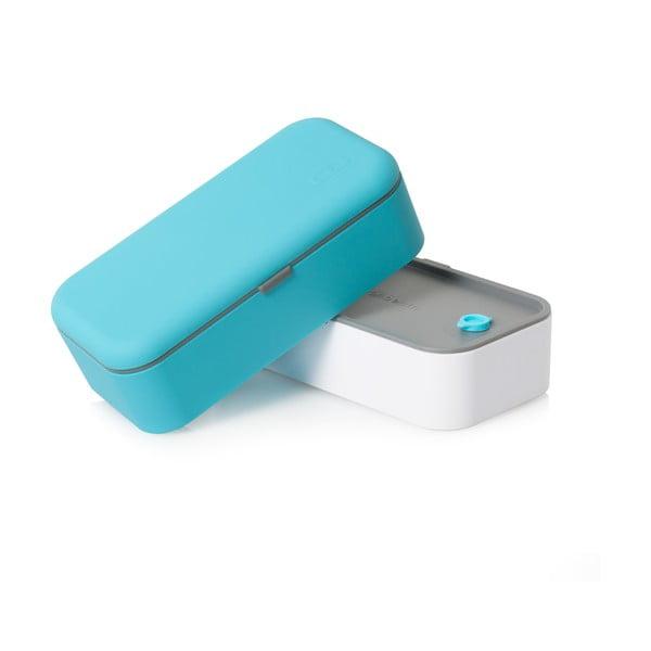 Modro-biely obedový box Monbento