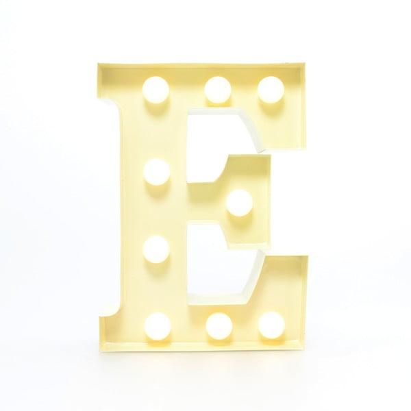 Dekoratívne svetlo Carnival E, vanilkové