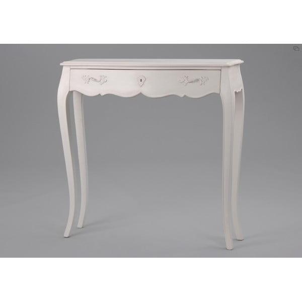 Stôl so zásuvkou Amadeus,  90x25 cm