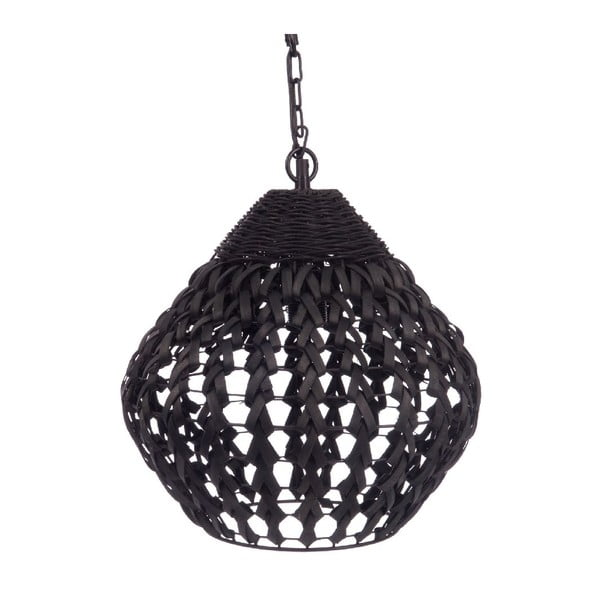 Stropné svetlo Geometric Black, 35x35x122 cm