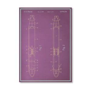 Plagát Submarine, 30x42 cm