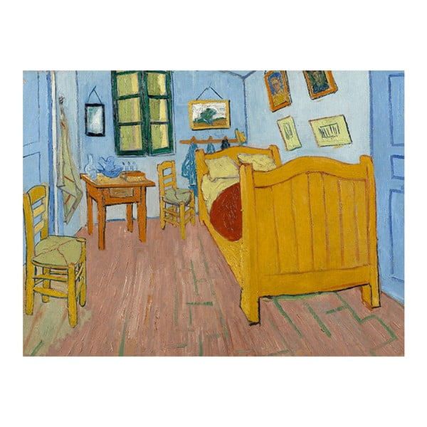 Obraz Vincenta van Gogha - The Bedroom, 60x80 cm
