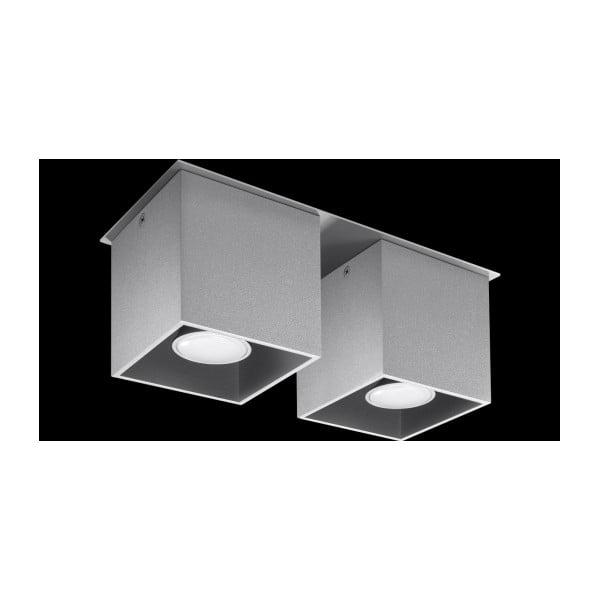 Sivé stropné svetlo Nice Lamps Geo 2