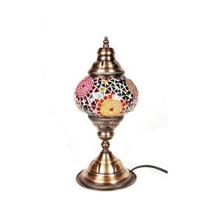 Sklenená lampa Homemania Oriental Sun, ⌀13cm
