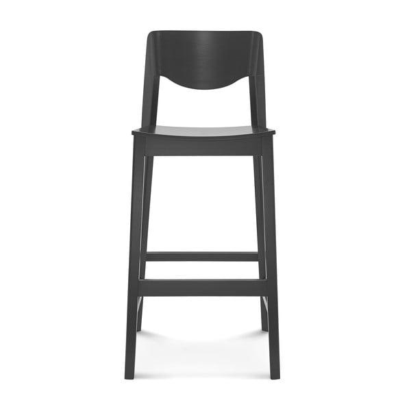 Čierna barová drevená stolička Fameg Ingred