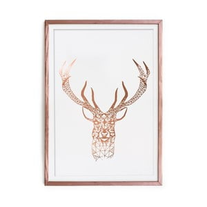 Obraz Really Nice Things Golden Deer, 40 x 60 cm