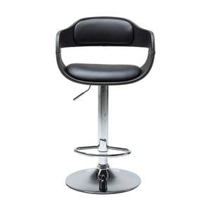 Čierna barová stolička Kare Design Costa