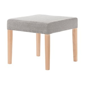 Sivohnedá stolička s hnedými nohami Ted Lapidus Maison Pétale