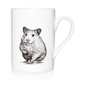 Porcelánový hrnček We Love Home Curious Mouse, 300 ml