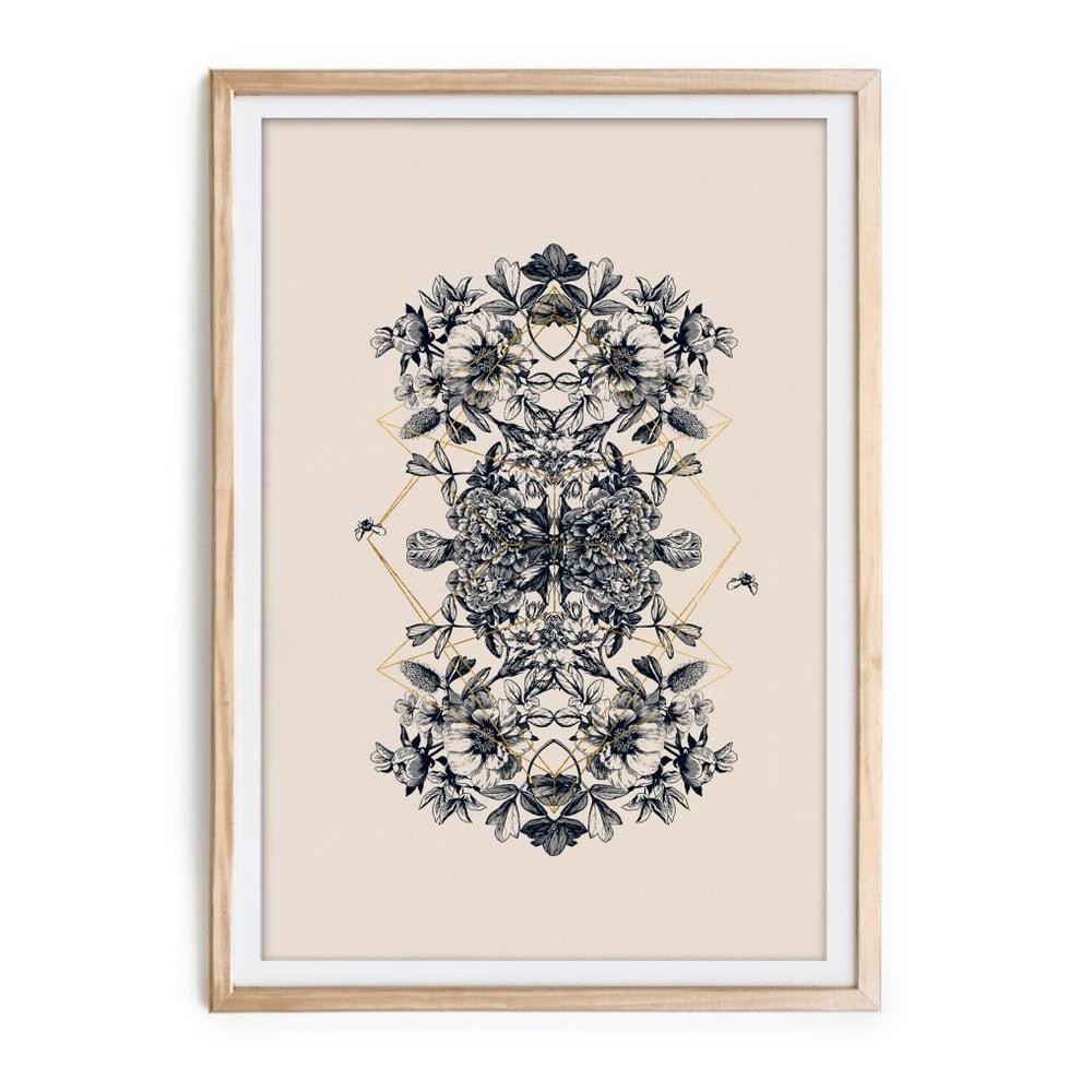 Obraz v ráme Velvet Atelier Botanical, 60 × 40 cm