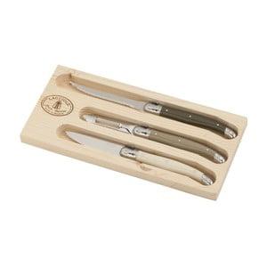 Set 3 nástrojov na grilovanie v drevenom balení Jean Dubost Tonic Mix