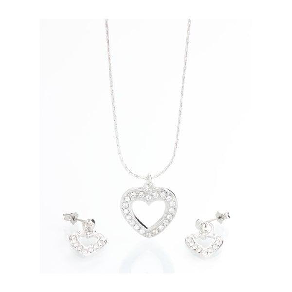 Set náhrdelníka a náušníc so Swarovski Elements Laura Bruni Ronni