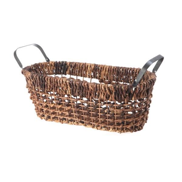 Prútený košík Oval Wicker, 37 cm
