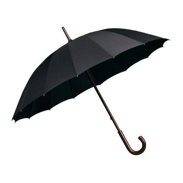 Čierny dáždnik Falconetti Elegance