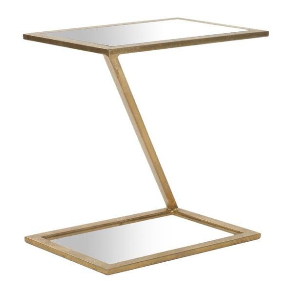 Kávový stolík Andrea Accent Gold