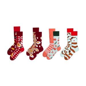 Sada 4 párov ponožiek v darčekovom balení Many Mornings Italiana, veľ. 43–46