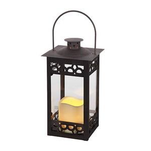 LED lampáš Epochy, hnedý