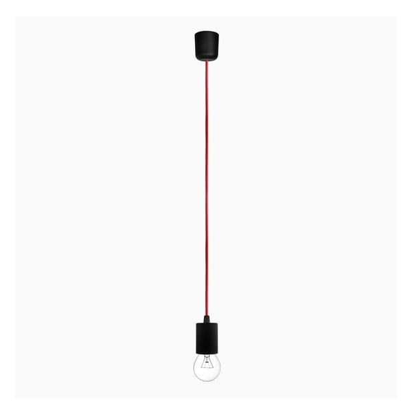 Závesný kábel Cero, červený/čierny