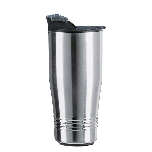 Cestovný termohrnček Senator Silver, 400 ml