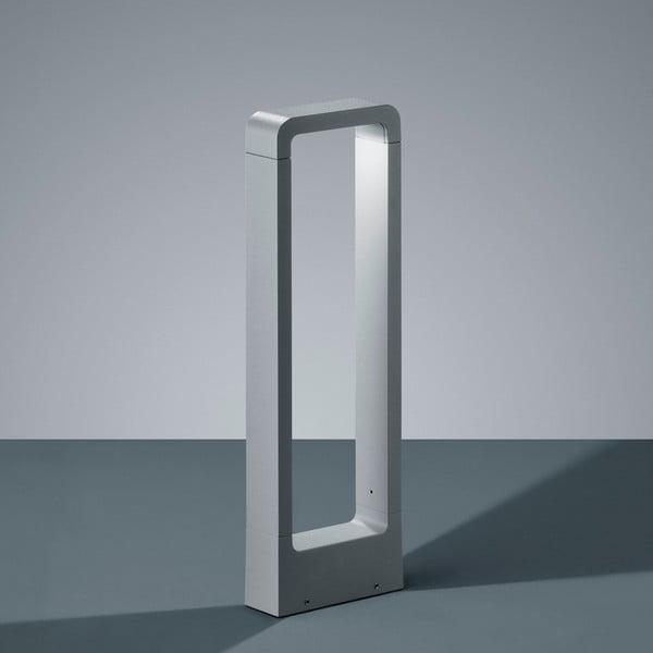 Svetlosivé vonkajšie stojacie svetlo Trio Reno, 50 cm