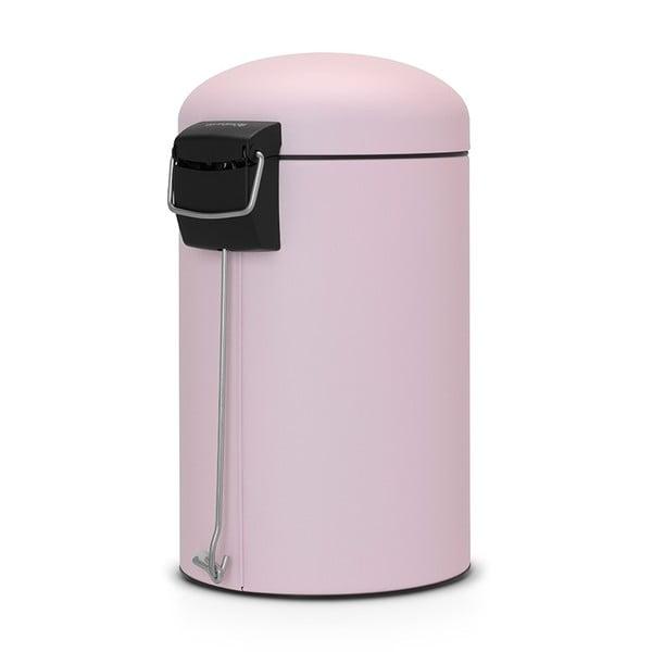Pedálový kôš Retro Bin, 12 l, matný mineral pink