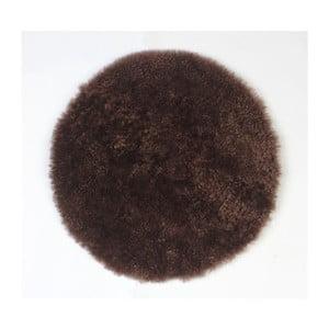 Prestieranie z ovčej kožušiny Coffee, 35 cm