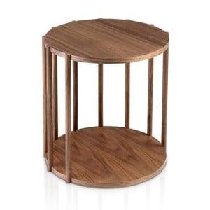 Príručný stolík z orechového dreva Ángel Cerdá Marta