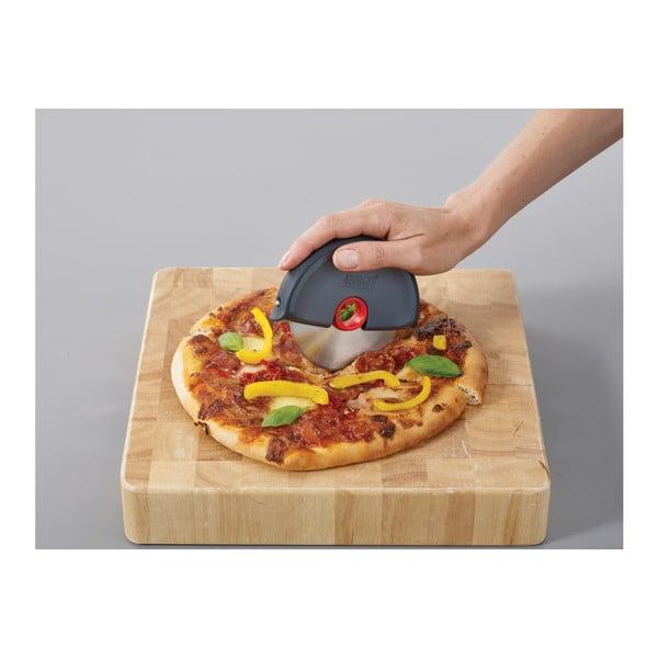 Sivý krájač na pizzu Joseph Joseph Disc